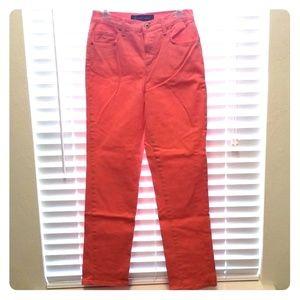 Gloria Vanderbilt Coral Jeans